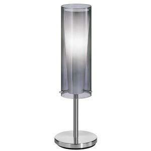 Pinto Nero 1 Light - Eglo 90308A Pinto Nero Table Lamp, Matte Nickel