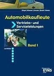 Automobilkaufleute, EURO, Bd.1, Vertriebs- und Serviceleistungen für Automobilkaufleute