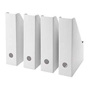 Juego de 8 revisteros de Ikea Fluns: Amazon.es: Hogar