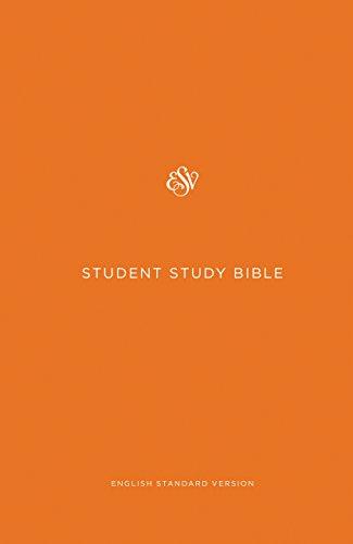 ESV Student Study Bible (Orange)