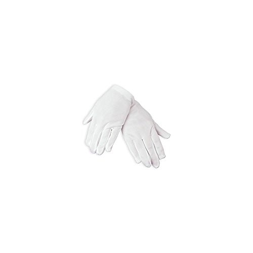 Fun Express Child Size White Polyester Gloves (1 -