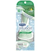 Schick Intuition Naturals Sensitive Care Razor -- 16 per case.
