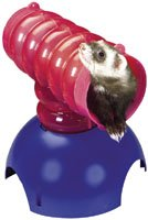Super Pet FerreTrail Bubble Wave Fun-nels Connectable Tee Ball for Critters
