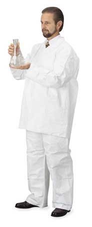 Disposable Pants, 2XL/3XL, White, PK12 by DuPont