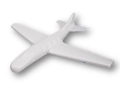 Planeur High Flying Styrofoam Gliders Wingspan, 22-Inch (Calypso Glider)