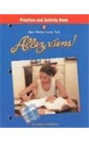 Holt Allez, viens!: Practice and Activity Book Level 2