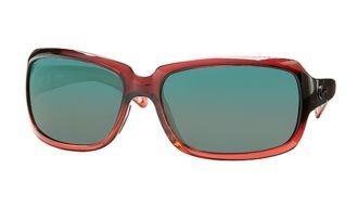 63cf4450ca Costa Del Mar Sunglasses - Isabela- Glass   Frame  Pomegranate Fade Lens  Polarized  Green Mirror Wave 400 Glass