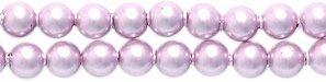 (Swarovski 5810 Crystal Round Pearl Beads, 3mm, Powder Rose, 50-Pack)