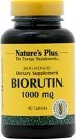 Nature's Plus Biorutin, 1000 mg, 90 tablets