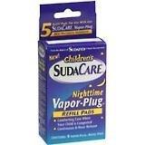 Children's SudaCare Nighttime Vapor-Plug Refills 5 each