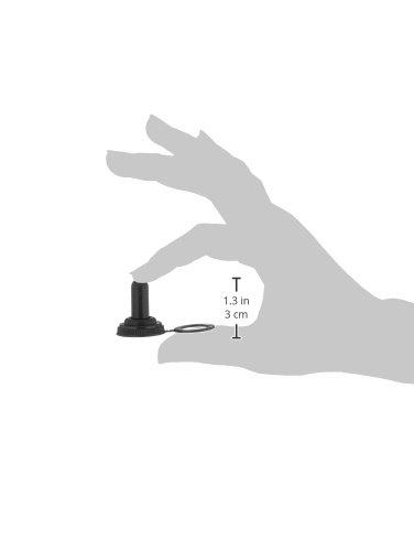 Sourcingmap a14062300ux0266 Interruptor de palanca de arranque 10 piezas negro impermeable protector de la cubierta tapa de goma
