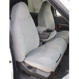 Durafit Seat Covers Made to fit 1997-1999 Ford F150 High Back 40/60 Split Bench Seat Custom Tan Automotive Twill with Foam Backed Velor Inserts Seat Covers,