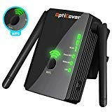 [Upgraded 2019] WiFi Extender with WPS Internet Signal Booster - Wireless Repeater 2.4GHz Band Up to 300 Mbps - Best Range Network/Compatible with Alexa/Extends WiFi to Smart Home/Alexa Devices (Best Tri Band Wireless Router 2019)