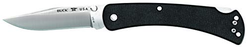 Buck Knives 110 Slim Pro Lockback Pocket Knife with Thumb Studs and Removable/Reversible Deep Carry Pocket Clip, 3-3/4'' S30V Blade by Buck Knives (Image #2)