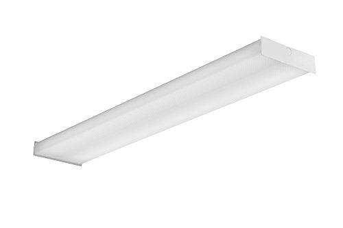 Price comparison product image Lithonia Lighting SBL4 LP835 LED Square Wraparound Ceiling Light,  4-Feet,  4000 Lumens,  3500K,  White,  4-Foot