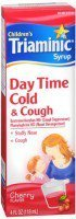Triaminic Children's Day Time Cold & Cough Syrup Cherry 4 oz (PACK OF 2)