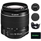 Canon EF-S 18-55mm f/3.5-5.6 IS II SLR Lens For EOS Rebel XS, XSi, XT, XTi, T1i, T2i, T3, T3i, T4i, T5, T5i, 10D, 20D, 30D, 40D, 50D, 60D, 70D, 7D