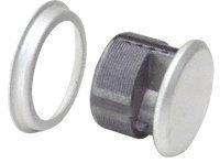CRL Aluminum Mortise Dummy Cylinder - (Mortise Dummy Cylinder)