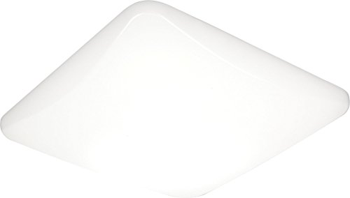 - Lithonia Lighting DFMLSL14 M4 14-Inch Replacement Lens for a LED Low Profile Square Flush Mount, White
