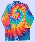 RPI Tie Dye Colored Laboratory Coat, Large (44)