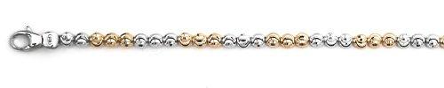 Officina Bernardi - Moon Collection - 7'' Bracelet (2 Color Choice) - Italian 925 Sterling Silver (Pink)
