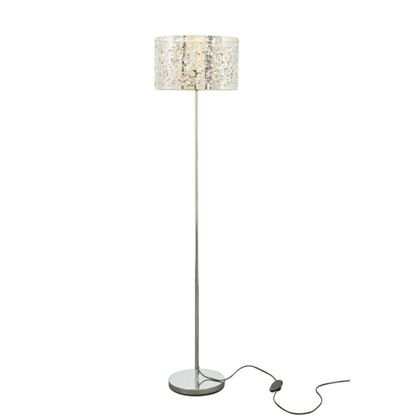 Ivey Forest Floor Lamp Living Room Silver: Amazon.co.uk