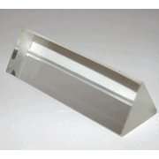 Equilateral Acrylic Prism 25 Length x 25mm Face - Acrylic Equilateral Prism