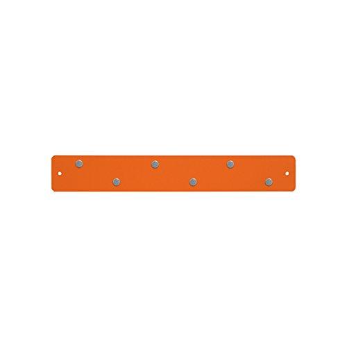 - Three By Three Seattle Mini Magnetic Strip Bulletin Board, Orange