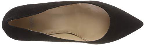 Mujer Hellia Hugo black Negro Para Zapatos 001 Tacón s De YRqYTvw