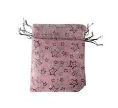 25 bolsas de organza de la más alta calidad, 10 x 12 cm, bolsas de regalo para boda, fiesta, vendedor del Reino Unido Red - Polka dots
