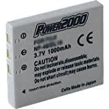 Power 2000 SBL-0837 Replacement 3.7v, 1000mAh Lithium Ion Battery for Samsung SBL-0837 Digital Camera Battery