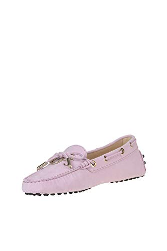 Ezgl027022 Rosa Tod's Mocasín Mujer Cuero Aq0nw0dS