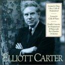 : Carter: Sonata for Flute, Oboe, Cello & Harpsichord / Cello Sonata / Double Concerto