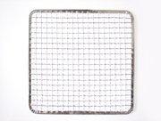 使い捨て焼き網 角網 正方形型200枚 270角mm☆鉄(亜鉛メッキ)中国産 焼肉用使い捨て焼網 網洗いの手間が省けます B00H1JE9RS