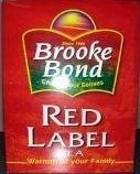Brooke Bond Red Label Loose Tea 900g (2lb) (6 - Red Tea Loose Label