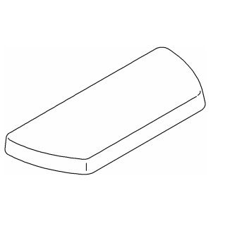 KOHLER K-84591-96 Well Worth Toilet Tank Cover, Biscuit - Toilet Tank Lid Cover