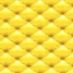 2 YellowVinyl Custom Specialty Swivel Chrome 24''Bar Stools (Wave Solar Flare)
