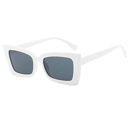 LODDD Adult Irregular Frame Sunglasses Retro Eyewear Fashion Radiation Protection ()