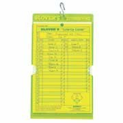Glover's Scorebooks Acrylic Line-Up Card Holder (Fits Line-Up Card) ()