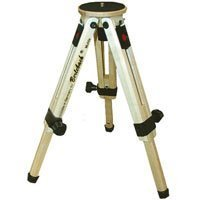 Berlebach 50031 Two-section Wood Table Top Tripod Legs with Leveling Ball & Center Column, Height up to 12.6'', Supports 17.6 lbs by Berlebach