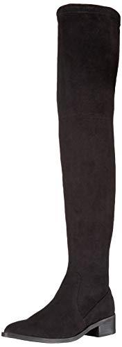 Steve Madden Women's JESTIK Over The Over The Knee Boot, Black, 7 M US