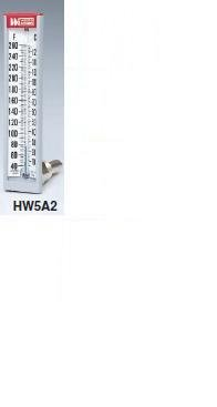 Weiss Instruments HW5A2 SIX INCH HOT WATER THERMOMETER - ...