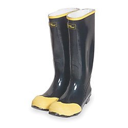 Amazon.com: Deluxe Steel Toe Knee Rubber Boots 16in. Mens: Shoes