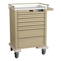 1156084 Cart Workstation Combo Lock 6Drawers Ea Harloff Manufacturing -7450C by Harloff Manufacturing