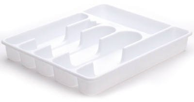 Rubbermaid 2925RDWHT Large Cutlery Trays by Rubbermaid (Image #2)