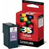 LEX18C0035 - Lexmark No. 35 Color Ink Cartridge