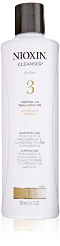 Nioxin Cleanser Shampoo System 3 for Color Treated Hair with Light Thinning, 10.1 Fl Oz