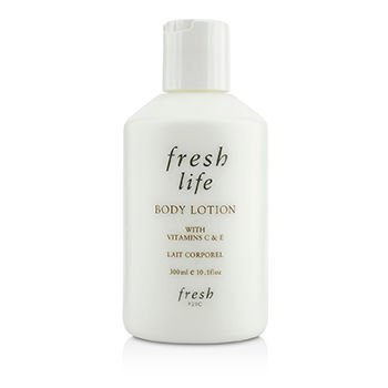 Lemon Body Fresh Sugar Lotion (Fresh Life Body Lotion, 10 Ounce (300Ml))