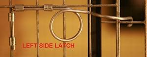 (25 Pack Wire Door Cage Latches Left)