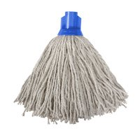 Blue HX Mop Head 300g (1) Colour Coded Floor Cleaning Floor Care None